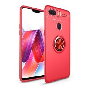 Θήκη Xiaomi Mi 8 Lite OEM Magnetic Ring Kickstand Πλάτη TPU κόκκινο