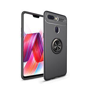 Θήκη Xiaomi Mi 8 Lite OEM Magnetic Ring Kickstand Πλάτη TPU μαύρο