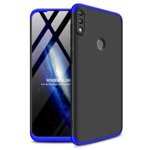 Θήκη Huawei Honor 10 Lite GKK Full body Protection 360° από σκληρό πλαστικό μαύρο / μπλε