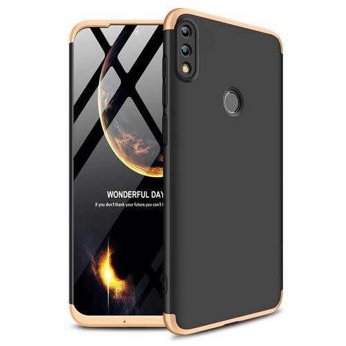 Θήκη Huawei Honor 10 Lite GKK Full body Protection 360° από σκληρό πλαστικό μαύρο / χρυσό
