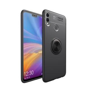 Θήκη Huawei Honor 8X OEM Magnetic Ring Kickstand Πλάτη TPU μαύρο