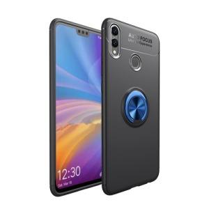 Θήκη Huawei Honor 8X OEM Magnetic Ring Kickstand Πλάτη TPU μπλε