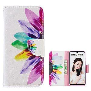 Θήκη Huawei P Smart (2019) OEM σχέδιο Colorful Petals με βάση στήριξης