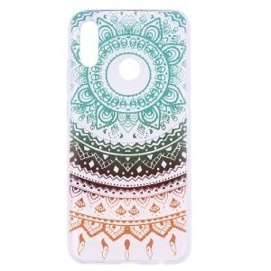 Θήκη Huawei P Smart (2019) OEM σχέδιο Colorful Lace Πλάτη TPU