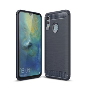 Θήκη Huawei P Smart (2019) OEM Brushed TPU Carbon Πλάτη μπλε