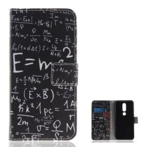 Θήκη Nokia 6.1 Plus OEM σχέδιο mathematical Formula με βάση στήριξης