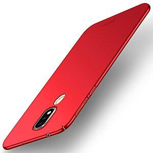 Θήκη Nokia 6.1 Plus MOFI Shield Slim Series Πλάτη από σκληρό πλαστικό κόκκινο
