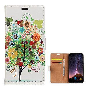 Θήκη Nokia 8.1 OEM σχέδιο Colorful Flower Tree με βάση στήριξης