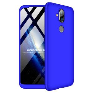 Θήκη Nokia 8.1 GKK Full body Protection 360° από σκληρό πλαστικό μπλε