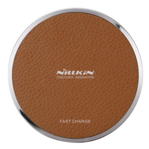Ασύρματος Φορτιστής NiLLkin Magic Disk III Wireless Charging Pad (Qi) Καφέ | MC011