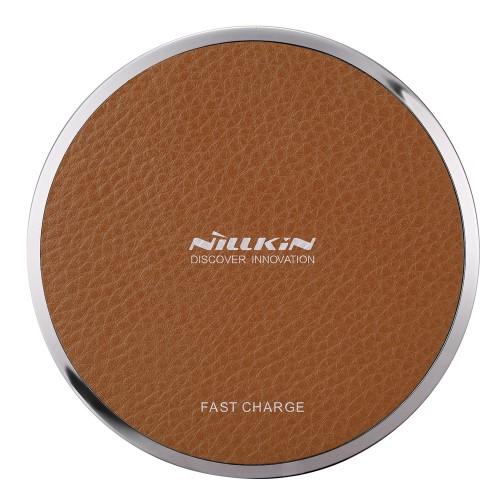 Ασύρματος Φορτιστής NiLLkin Magic Disk III Wireless Charging Pad (Qi) Καφέ | MC011
