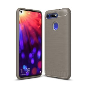 Θήκη Honor View 20 OEM Brushed TPU Carbon Πλάτη γκρι