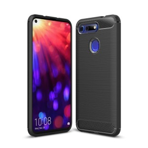 Θήκη Honor View 20 OEM Brushed TPU Carbon Πλάτη μαύρο