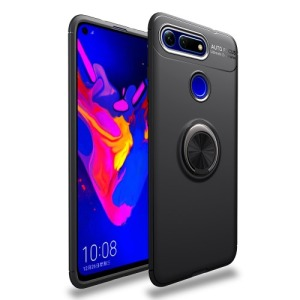 Θήκη Honor View 20 OEM Magnetic Ring Kickstand Πλάτη TPU μαύρο