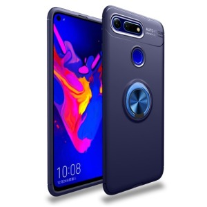 Θήκη Honor View 20 OEM Magnetic Ring Kickstand Πλάτη TPU μπλε