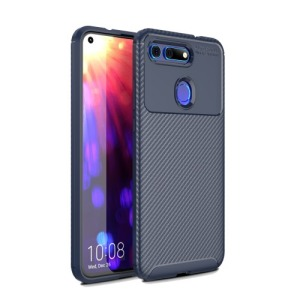 Θήκη Honor View 20 OEM Airbag Carbon Series Πλάτη TPU μπλε
