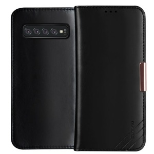 Θήκη Samsung Galaxy S10 DZGOGO Royale Series II Genuine Leather Flip Wallet δερμάτινη μαύρο