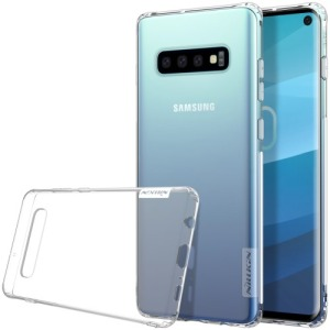 Θήκη Samsung Galaxy S10 NiLLkin Nature Series 0.6mm Πλάτη διάφανη