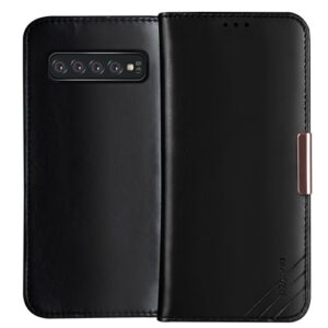 Θήκη Samsung Galaxy S10 Plus DZGOGO Royale Series II Genuine Leather Flip Wallet δερμάτινη μαύρο