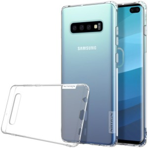 Θήκη Samsung Galaxy S10 Plus NiLLkin Nature Series 0.6mm Πλάτη διάφανη