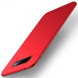 Θήκη Samsung Galaxy S10 Plus MOFI Shield Slim Series Πλάτη από σκληρό πλαστικό κόκκινο