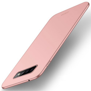 Θήκη Samsung Galaxy S10 MOFI Shield Slim Series Πλάτη από σκληρό πλαστικό ροζ