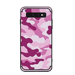 Θήκη Samsung Galaxy S10 NXE Camouflage Series Πλάτη TPU φούξια