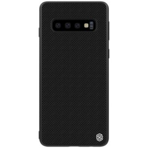 Θήκη Samsung Galaxy S10 NiLLkin Textured Hard Case Series Πλάτη TPU μαύρο