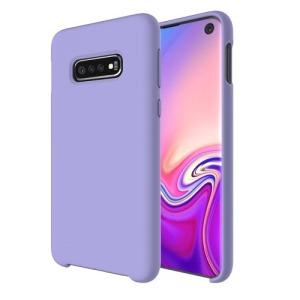 Θήκη Samsung Galaxy S10 OEM Soft Liquid Silicone Πλάτη TPU μωβ