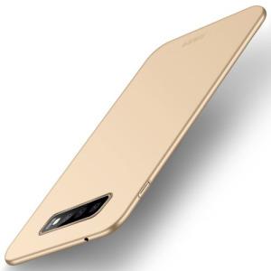 Θήκη Samsung Galaxy S10 MOFI Shield Slim Series Πλάτη από σκληρό πλαστικό χρυσό