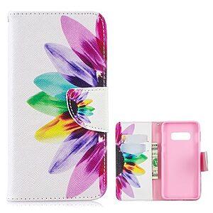 Θήκη Samsung Galaxy S10e OEM σχέδιο Colorful Petals με βάση στήριξης