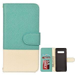 Θήκη Samsung Galaxy S10e OEM Contrast Leather Wallet Case με βάση στήριξης