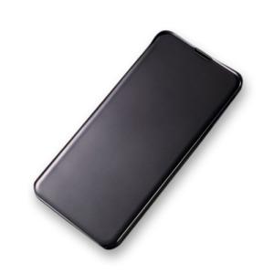 Θήκη Samsung Galaxy S10e OEM Mirror Surface View Stand Case Cover Flip Window από σκληρό πλαστικό μαύρο
