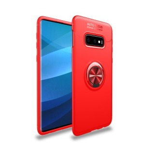 Θήκη Samsung Galaxy S10e OEM Magnetic Ring Kickstand Πλάτη TPU κόκκινο
