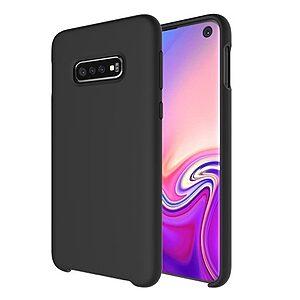 Θήκη Samsung Galaxy S10e OEM Soft Liquid Silicone Πλάτη TPU μαύρο