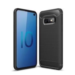 Θήκη Samsung Galaxy S10e OEM Brushed TPU Carbon Πλάτη μαύρο