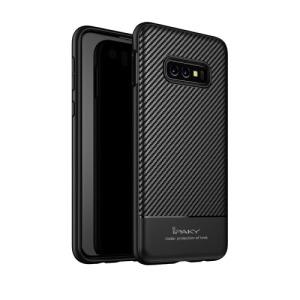 Θήκη Samsung Galaxy S10e IPAKY Carbon Fiber Πλάτη TPU μαύρο