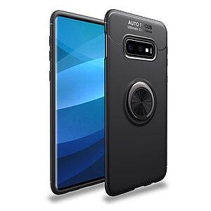 Θήκη Samsung Galaxy S10e OEM Magnetic Ring Kickstand Πλάτη TPU μαύρο