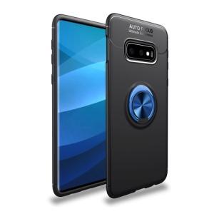 Θήκη Samsung Galaxy S10e OEM Magnetic Ring Kickstand Πλάτη TPU μαύρο / μπλε
