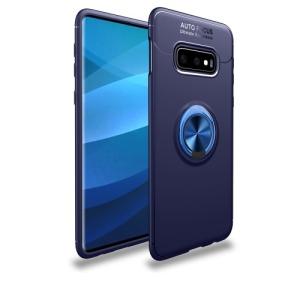 Θήκη Samsung Galaxy S10e OEM Magnetic Ring Kickstand Πλάτη TPU μπλε