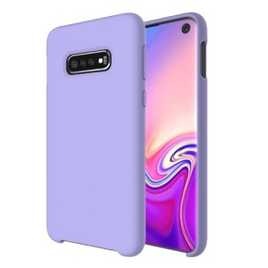 Θήκη Samsung Galaxy S10e OEM Soft Liquid Silicone Πλάτη TPU μωβ