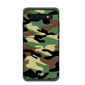 Θήκη Samsung Galaxy S10e NXE Camouflage Series Πλάτη TPU πράσινο
