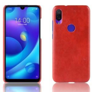 Θήκη Xiaomi Redmi Note 7 LITCHI Litchi Skin Leather Plastic Series Πλάτη δερματίνη κόκκινο