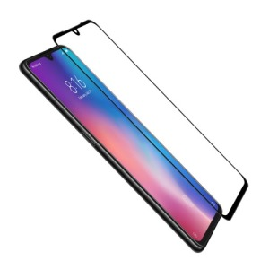 NiLLkin CP+ για Xiaomi Mi 9 (Πλήρης Κάλυψη) Αντιχαρακτικό γυαλί Tempered Glass 9H – μαύρο