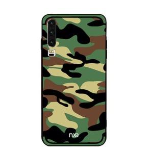 Θήκη Huawei P30 NXE Camouflage Series Hybrid Πλάτη TPU & σκληρό πλαστικό στο πίσω μέρος πράσινο