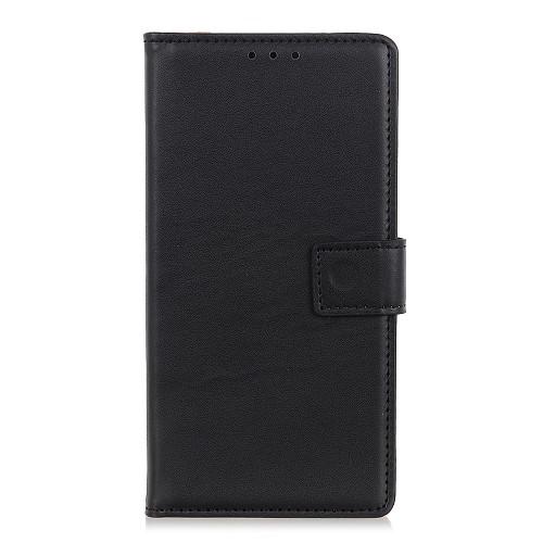 υποδοχές καρτών και μαγνητικό κούμπωμα Flip Wallet δερματίνη μαύρο