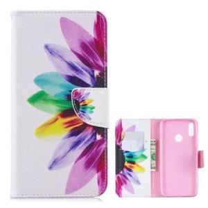 Θήκη Huawei Y7 (2019) / Y7  Prime (2019) OEM σχέδιο Colorful Petals με βάση στήριξης