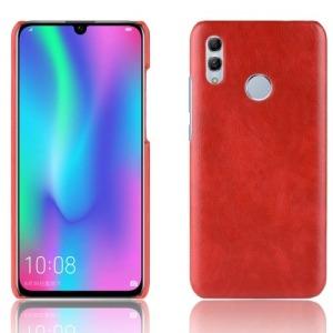 Θήκη Huawei Y7 (2019) / Y7  Prime (2019) OEM Litchi Skin Leather Plastic Series Πλάτη από σκληρό πλαστικό με επένδυση δερματίνης κόκκινο