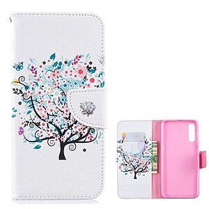 Θήκη Samsung Galaxy A50 OEM σχέδιο Flowered Tree με βάση στήριξης