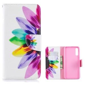 Θήκη Samsung Galaxy A50 OEM σχέδιο Colorful Petals με βάση στήριξης